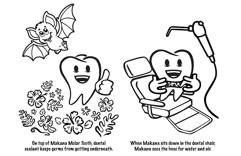 Makana Molar Dental Sealant DOH Booklet